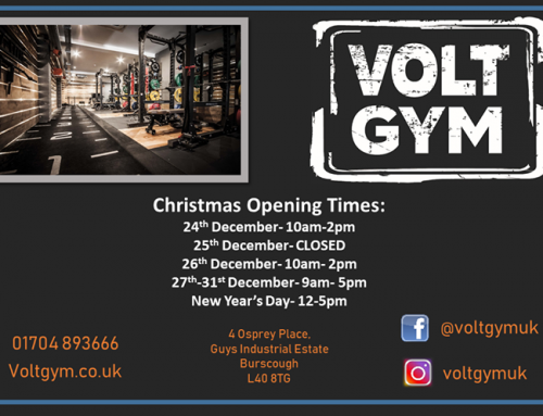 ??Volt Gym Christmas opening hours are here!  For you keen trainers you will be …