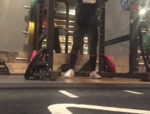 Life time lifting goal achieved tonight  I had on my back, and squatted 100kg ?…
